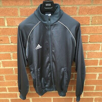 Adidas Vintage Track Top Grey - Large