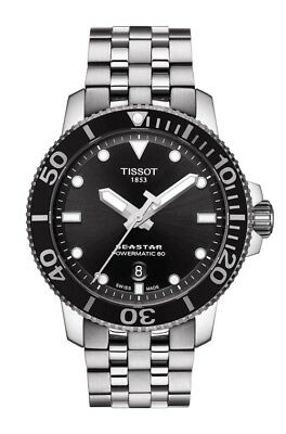 New Tissot Seastar 1000 Powermatic 80 Automatic Men's Watch T1204071105100
