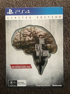 The Evil Within Limited Edition PS4 Playstation 4 Game!