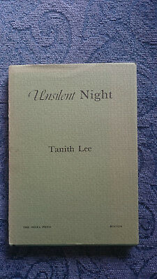 Unsilent Night By Tanith Lee, Only 1000 Copies. Hardback First Edition.