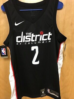 0dd090968 Washington Wizards JOHN WALL Nike 2018 NBA Men s City Swingman Jersey Size  Large