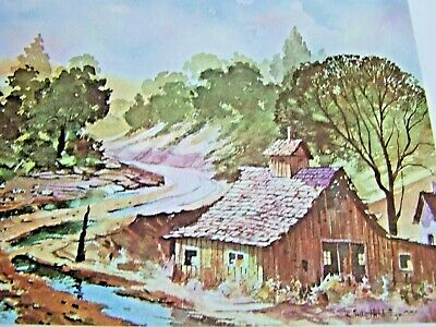It's Fun To Paint Roads And Rivers Oil Lavere Hutchings Walter Foster Tole Book