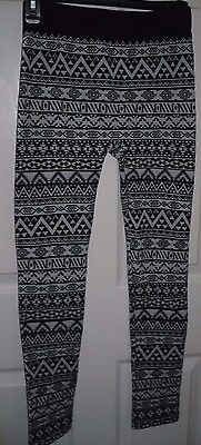 53571e02eeb06 WOMEN'S RUE 21 Leggings S/M Black & White Design NEW - $11.82 | PicClick