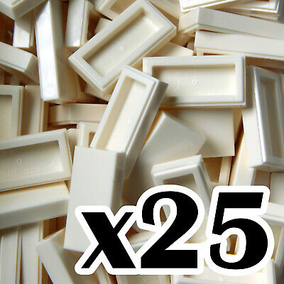 NEW LEGO 1 x 1 TILES smooth flat tiled 1x1 Trans Clear tile x 50