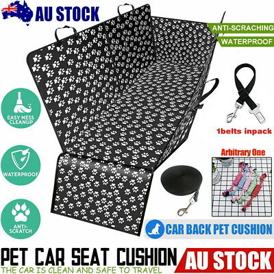 Pet Car Back Seat Cover Dog Cat Waterproof Protector Mat Blanket Adjustable New