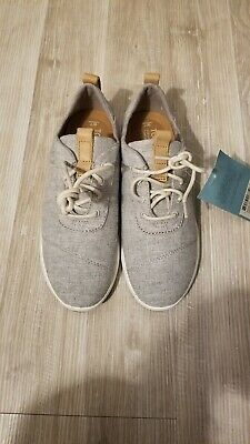 54d22258f14 TOMS WOMEN S 10011751 Drizzle Grey Chambray Mix Cabrillo Sneakers ...