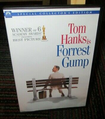 Forrest Gump - Special Collector's Edition 2-Disc Dvd Movie, Tom Hanks, Ws, Guc