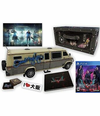 Devil May Cry 5 Collectors Edition PS4 IN HAND BRAND NEW SHIPS FAST!!