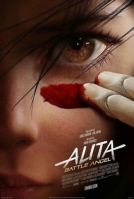 Alita Battle Angel Teaster Large Movie Poster - 24X36 Premium Gloss Poster