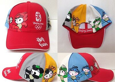 35d10ff0a50e YOUTH boy girl kids 2008 BEIJING SUMMER OLYMPIC GAMES HAT Fuwa  Soccer Others NEW