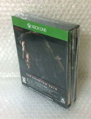 NEW Xbox One METAL GEAR SOLID V THE PHANTOM PAIN SPECIAL EDITION w/ tear JAPAN