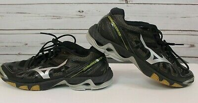 1487d0d51890 Mizuno Wave Lightning RX2 Women's Indoor Volleyball Shoes Size 10 Black  Silver
