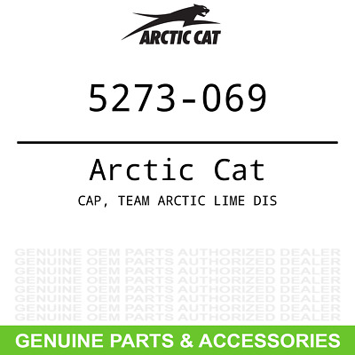 Arctic Cat CAP TEAM ARCTIC LIME DIS 5273-069 OEM