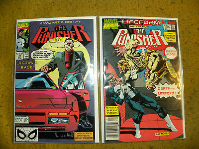 The Punisher Comic Mixed Lot of 19 - Vol 1 - Present  High Grade  VF/NM