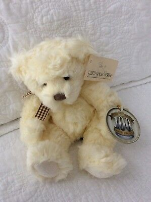 RUSS 100th Anniversary Collection Buckingham Teddy Bear With Tags