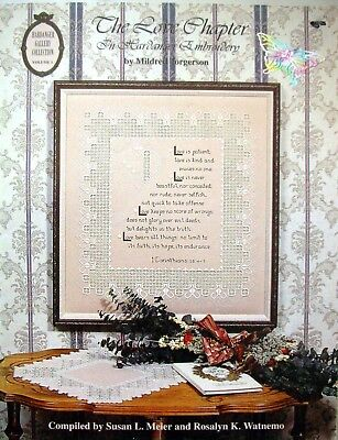 THE LOVE CHAPTER Hardanger Embroidery - Book by M Torgerson Gallery Collection 1