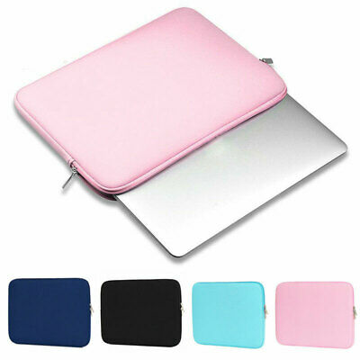 """Soft Laptop Sleeve Case Bag Computer Pouch For 11.6"""" 15.6"""" Notebook Air Pro"""