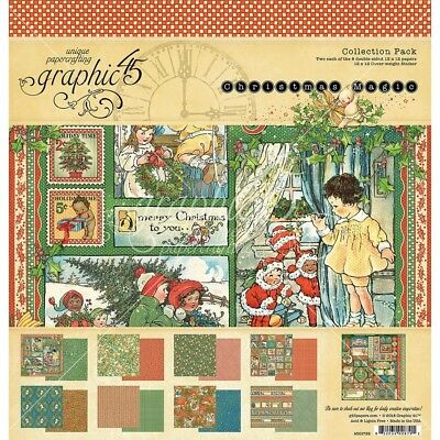 """G45 - Double-Sided - Christmas Magic Collection Pack 12""""X12"""""""