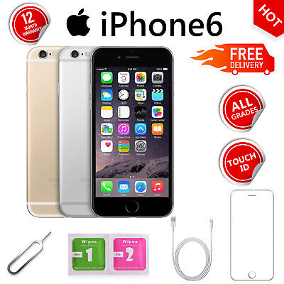Apple iPhone 6 16GB 64GB 128GB Unlocked SIM Free Various Colours LTE Smartphone