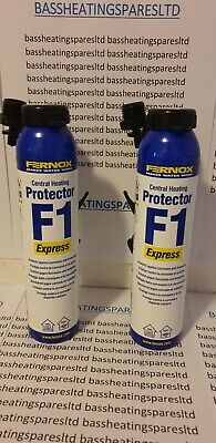Fernox Express F1x 2 brand new with both nozzles, twin pack