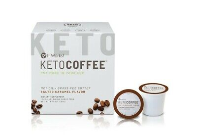 NEW!!! It Works! Keto Coffee Pods™ Salted Caramel flavor!!!