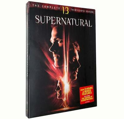 Supernatural: The Complete Thirteenth Season (DVD, 2018, 5-Disc Set) New Sealed