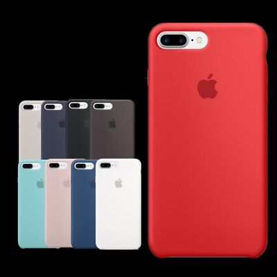 Genuine Originale Silicone Sottile Custodia Cover per Apple iPhone XS 8 7 6 Plus