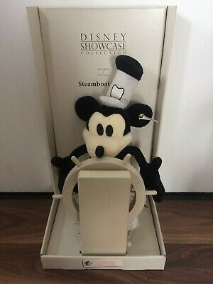 Steiff Steamboat Willie Mickey Mouse Disney Showcase Collection