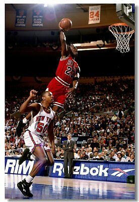 Poster Michael Jordan MJ 23 MVP Last Shot Utah Basketball Stars Cloth Print 523