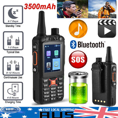 Walkie Talkie SOS Rugged Two-Way Radio BT 3G Mobile Phone WCDMA/GPS/Network HOT