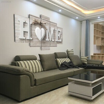 3107 Wall Decor Ornament Home Canvas Oil Paintings Large Love Heart Art Craft