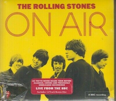 On Air [Deluxe Edition] [2 CD] [Digipak] by The Rolling Stones (CD, Dec-2017, 2