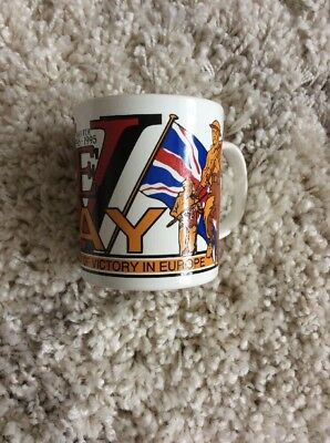 VE Day 50th Anniversary 1995 Mug