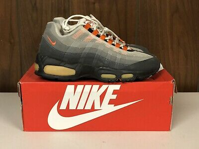 info for 29d38 32860 1997 Vintage Nike Air Max 95 Safety Orange 604069 081 Size 9 Mens