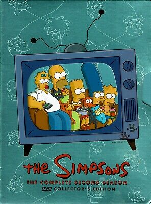 The Simpsons Complete Second Season Collector's Edition (4-DVD Boxed Set)