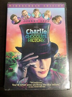 Charlie and the chocolate factory: DVD: Brand New: 2005