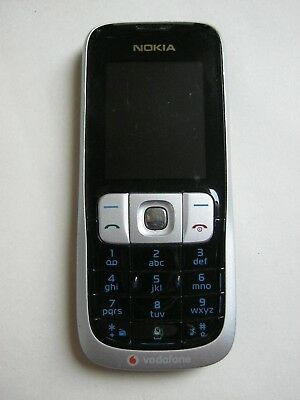 Nokia 2630 Mobile Phone Vintage Silver & Black Vodafone Nice Condition