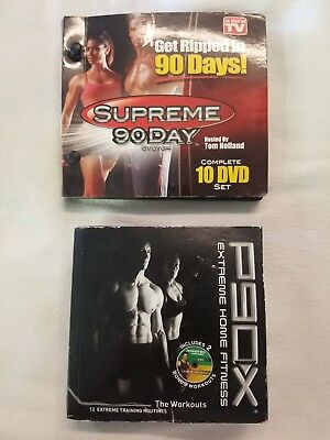 P90X 12 DVD Workout Program W/Resistance Band & Nutrition