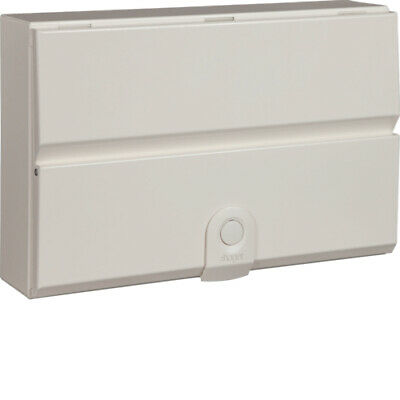 NEW Hager Design 30 VM755H, 10 Way Metal Split Load Consumer Unit
