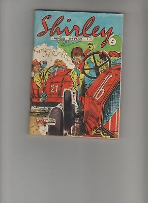 BD SHIRLEY N°40  A Comme automobile 1966 Edition Mon Journal