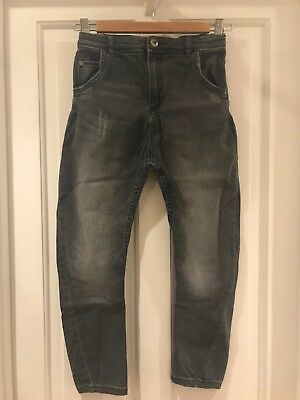 """River Island Boys Jeans Age 10 """"Tony"""" Tapered Slouch"""