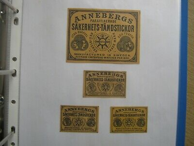 4 Old Swedish Matchbox Labels.design 2.