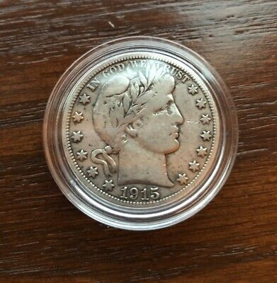 1915-S Silver Barber Half Dollar In Top Condition!! Key Date!!