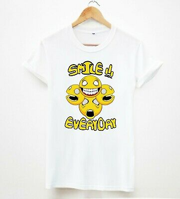 4c7c68003a12 smile everyday graphics tshirts trendy wasted youth tumbler mens unisex  tshirts