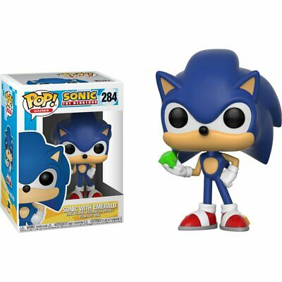 Funko Pop! Games Sonic With Emerald Vinyl Action Figure