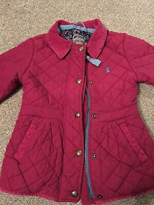2bd54624c GIRLS JOULES PADDED coat age 5 - EUR 12