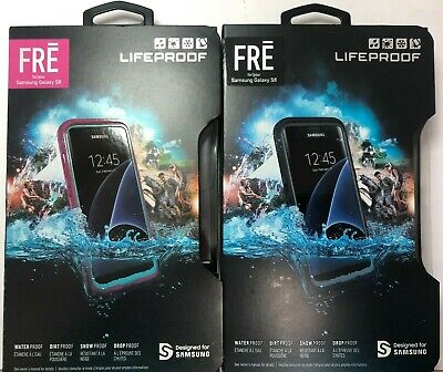 LifeProof FRE Series Waterproof Case for Samsung Galaxy S8 - BLACK OR PINK