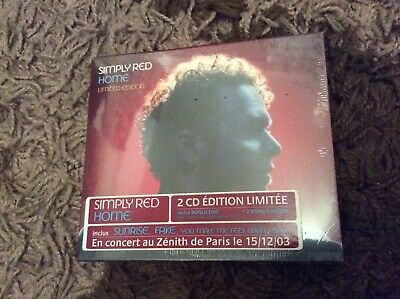 Simply Red- Home- Limited Cd/dvd- Brand New Sealed