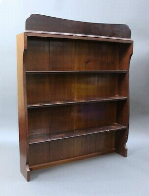 Mahogany Dresser Top Shelves