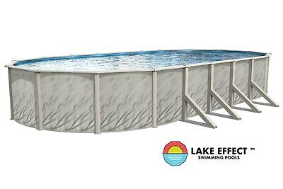 LAKE EFFECT POOL ONLY Above Ground Oval 52\